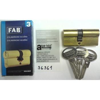 Cylindrická vložka FAB 200...